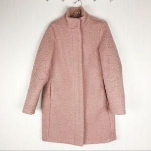 Old navy mock neck coat pink